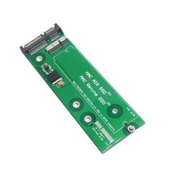 17+7pin SSD HDD SATA 22Pin Cietā Diska Kasetne Disku PCBA par Macbook Air, Pro MD223 MD224 MD231 MD232 SSD 32768